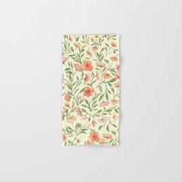 Watercolor Botanical Pattern Hand & Bath Towel