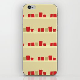 Retro Holiday Gifts iPhone Skin