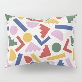 Colorful Geometric Shapes Pillow Sham