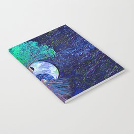 Tree of Life Yin Yang Earth Space Notebook