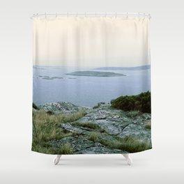 Threesixty view Shower Curtain