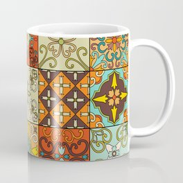 Vintage mosaic talavera ornament Coffee Mug
