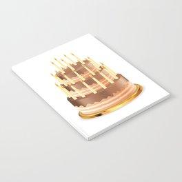 Big chocolate cake Notebook