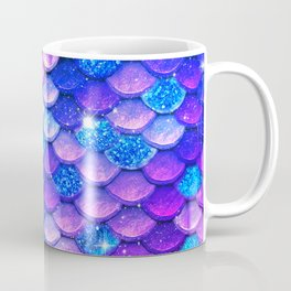 Mermaid Scales Girly Coffee Mug