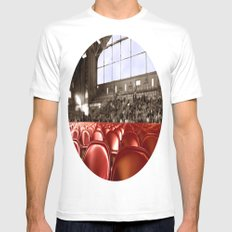 A Gym audience Mens Fitted Tee White MEDIUM