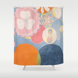 The Ten Biggest No 2 By Hilma Af Klint Shower Curtain