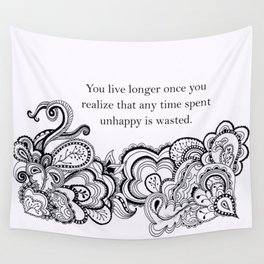 Live Longer Wall Tapestry