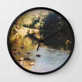 A rock's throw. Wall Clock