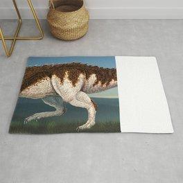 Tyrannosaurus Rex Finished Reconstruction Rug