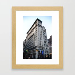 building Framed Art Print