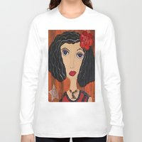 gypsy Long Sleeve T-shirts featuring GYPSY by Knittingandthings