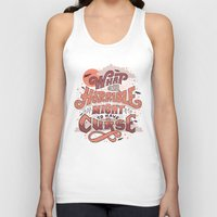 castlevania Tank Tops featuring Curse by Mary Kate McDevitt