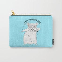 Hamster singing MC Hammer | Animal Karaoke | Blue Carry-All Pouch