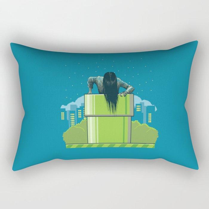 The wrong hole Rectangular Pillow