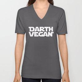 Darth Vegan (2) Unisex V-Neck