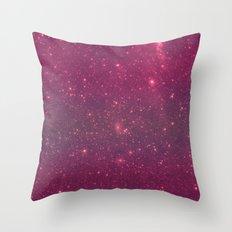 Pink Space Throw Pillow