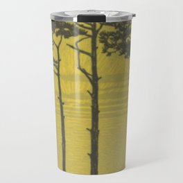 Art Nouveau Pines Travel Mug