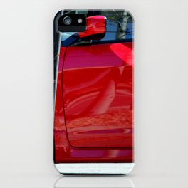 Red Hot At High Noon iPhone Case