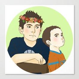 Sterek Kids Print 2 Canvas Print