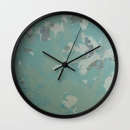 Turquoise Alliance Wall Clock