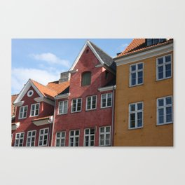 Copenhagen Sun Canvas Print