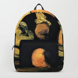 Paul Cezanne - Preparation for the funeral, the autopsy - Digital Remastered Edition Backpack
