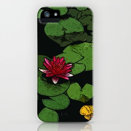 Lilypads iPhone Case