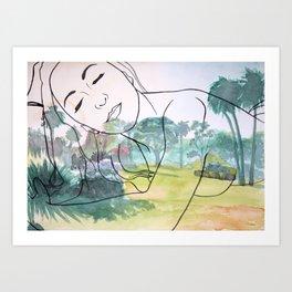 Centennial Park Art Print