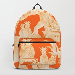 A tower of elephants and pineapples Backpack