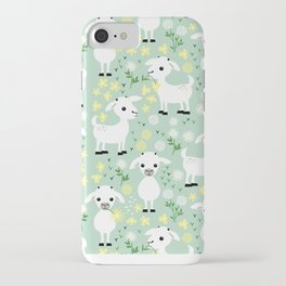 Baby goats iPhone Case