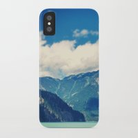 diablo iPhone & iPod Cases featuring Diablo Lake by SarahS