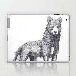 The Lone She-Wolf Laptop & iPad Skin