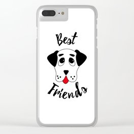 Best friends Clear iPhone Case
