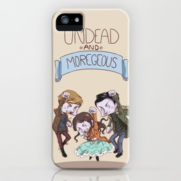 In the Flesh - Moregeous iPhone Case