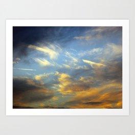 Solar Sails Art Print