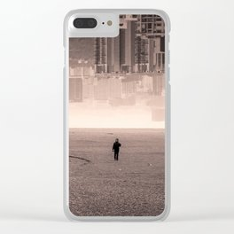 Singaporean-Icelandic Post-Apocalyptical Inception Clear iPhone Case