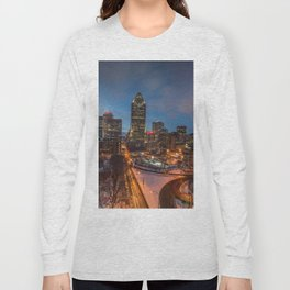 Montreal By Night Long Sleeve T-shirt