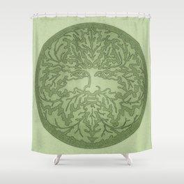 Greenman Shower Curtain