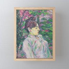The Greens by HT-L Framed Mini Art Print