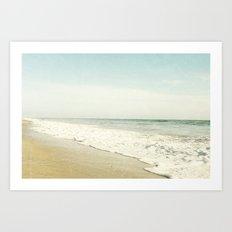 Summer Beach  Art Print