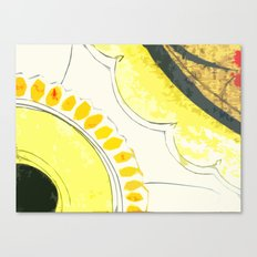 Kitchen Flowers  Canvas Print