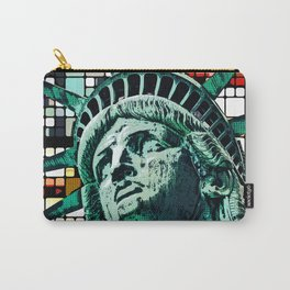 Patriotic Statue of Liberty Carry-All Pouch