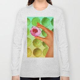Flower Pop Long Sleeve T-shirt