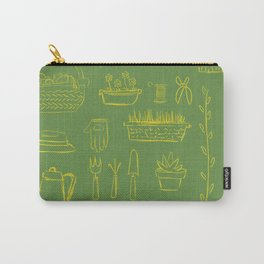 Gardening and Farming! - illustration pattern Carry-All Pouch