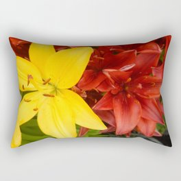 """A Gathering of Lilies"" - 3 [D4468~49] Rectangular Pillow"