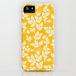 Leaves Pattern 11 iPhone Case