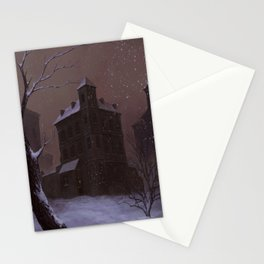 Memory of winter 1991. Stationery Cards