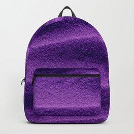 Sand_Ripples - Purple Backpack
