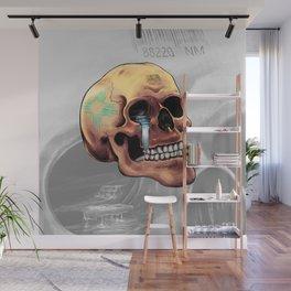 Zia Skull Wall Mural
