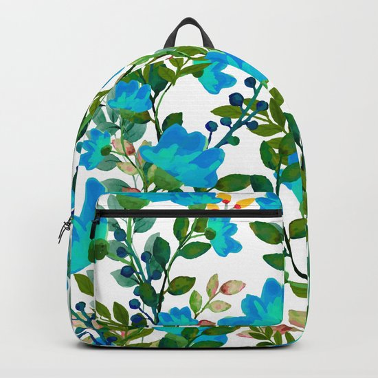 Blue #society6 #decor #buyart Backpack